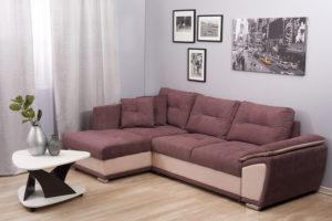 химчистка мягкого углового дивана
