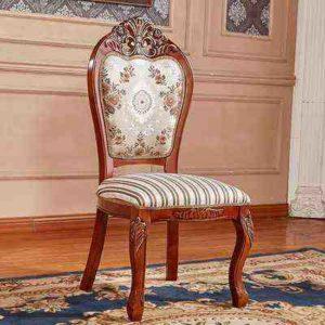химчистка стула с элементами декора