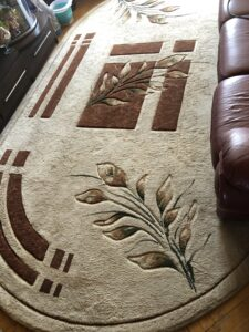 химчистка ковров с вывозом
